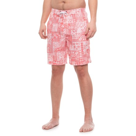c2dd646bb42 Trunks Surf & Swim Co Swami Short Tribal Printed Swim Trunks (For Men) in