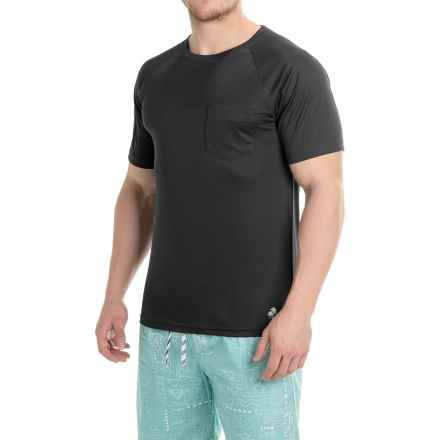 Trunks Surf & Swim Co. Swim T-Shirt - UPF 20+, Short Sleeve (For Men) in Black - Closeouts