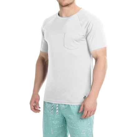 Trunks Surf & Swim Co. Swim T-Shirt - UPF 20+, Short Sleeve (For Men) in White - Closeouts