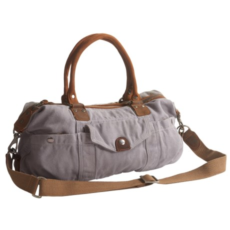 TSD Bay Arm Satchel (For Women) in Grey