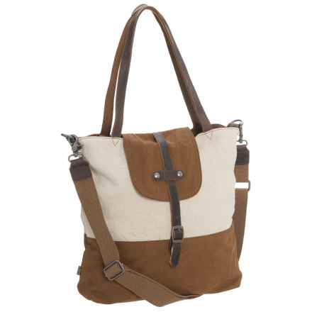 TSD Hillside Tote Bag (For Women) in Khaki - Closeouts
