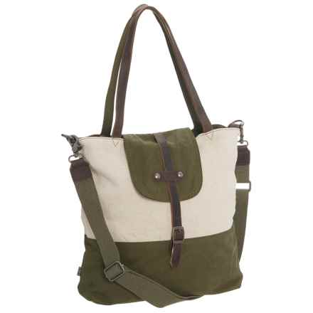 TSD Hillside Tote Bag (For Women) in Olive - Closeouts