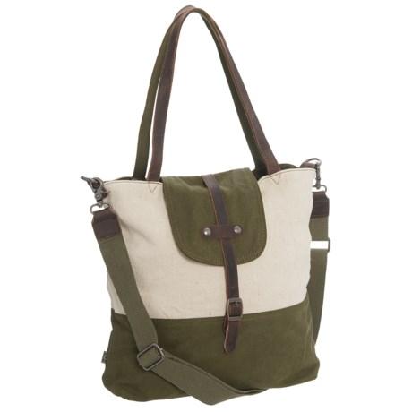 TSD Hillside Tote Bag (For Women) in Olive