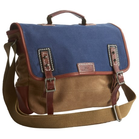 TSD Mountain Wood Messenger Bag (For Women) in Navy