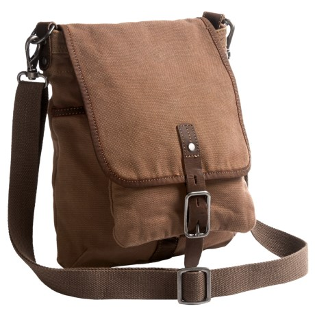 TSD Valley Vista Crossbody Bag (For Women) in Camel