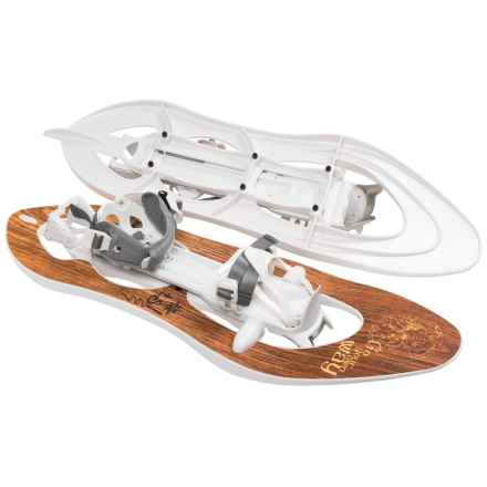 TSL Escape Easy Composite Snowshoes - 227 in Authentic Wood - Closeouts