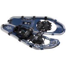TSL Over the Top Aluminum Snowshoes - 25 (For Women) in Navy Blue/Cream - Closeouts