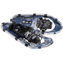 TSL Over the Top Snowshoes - 20, Aluminum (Women) in Navy Blue/Cream - Closeouts