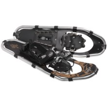 TSL Over the Top Snowshoes - 25, Aluminum in Black/Gold - Closeouts