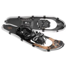 TSL Over the Top Snowshoes - 30, Aluminum in Black/Gold - Closeouts