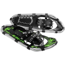 "TSL Rebel Snowshoes - 20"" (For Kids) in Black/Green - Closeouts"