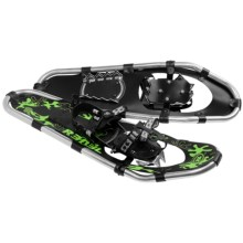 "TSL Rebel Snowshoes - 25"" (For Kids) in Black/Green - Closeouts"