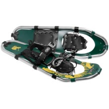 TSL Take the High Road Aluminum Snowshoes - 25 (For Men) in Green/Yellow - Closeouts