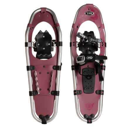 TSL Take the High Road Aluminum Snowshoes - 25 (For Women) in Dark Purple/Purple - Closeouts