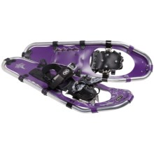 TSL Take the High Road Aluminum Snowshoes - 25 (For Women) in Grape/Silver - Closeouts