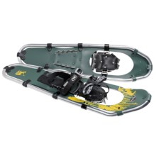 TSL Take the High Road Aluminum Snowshoes - 30 (For Men) in Green/Yellow - Closeouts