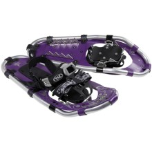 "TSL Take The High Road Snowshoes - 20"" (For Women) in Grape/Silver - Closeouts"