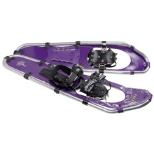 "TSL Take The High Road Snowshoes - 30"" (For Women) in Grape/Silver - Closeouts"