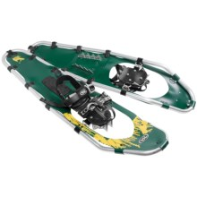 "TSL Take the High Road Snowshoes - 35"" in Green/Yellow - Closeouts"