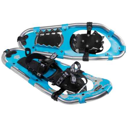 TSL Walk In The Park Snowshoes - 20, Aluminum (For Women) in Sky Blue/Beige - Closeouts