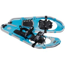 TSL Walk In The Park Snowshoes - 25, Aluminum (For Women) in Sky Blue/Beige - Closeouts