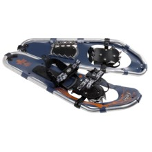 TSL Walk In The Park Snowshoes - 25, Aluminum in Navy Blue/Orange - Closeouts