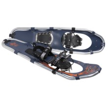TSL Walk In The Park Snowshoes - 30, Aluminum (For Men) in Navy Blue/Orange - Closeouts