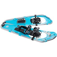 TSL Walk In The Park Snowshoes - 30, Aluminum (For Women) in Sky Blue/Beige - Closeouts