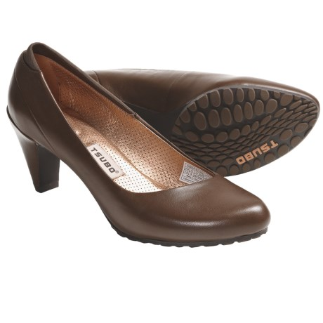 Tsubo Dufay Pumps (For Women) in Chestnut/Amber