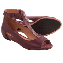 Tsubo Gerri Snake Sandals (For Women) in Sangria - Closeouts