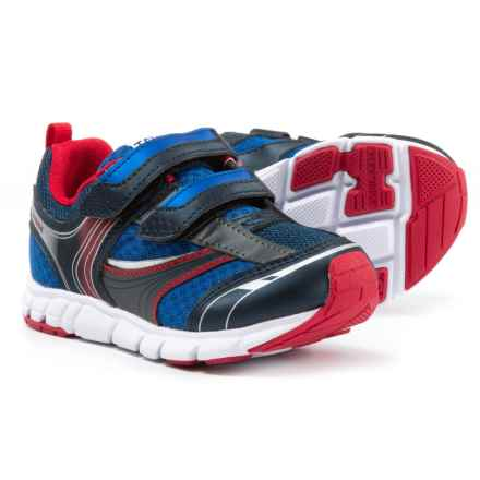 Tsukihoshi Dart Sneakers (For Boys) in Navy/Red - Closeouts