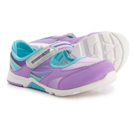 Tsukihoshi Glamour Mary Jane Sneakers (For Girls) in Lavendar