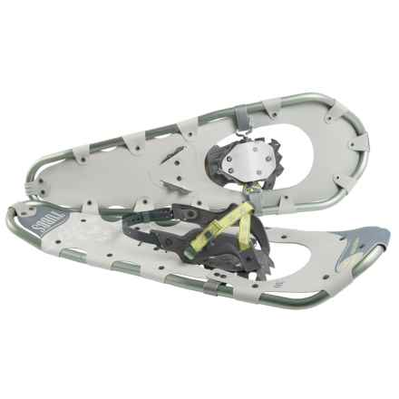 Tubbs Frontier 30 Snowshoes (For Women) in Green/Light Gray - Closeouts