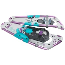 Tubbs Storm Snowshoes (For Youth) in Teal/Purple