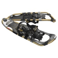 "Tubbs Xpedition Snowshoes - 25"" (For Women) in Black/Gold - Closeouts"