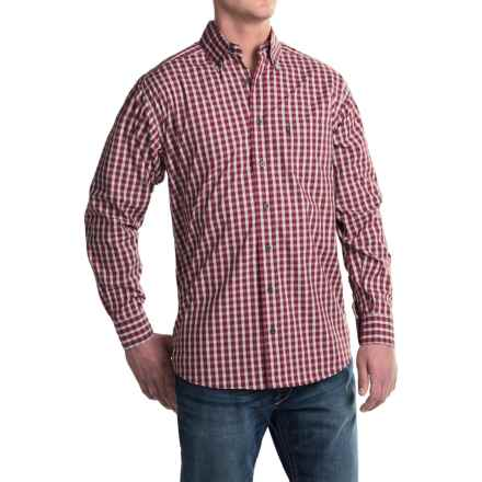 Tuf Cooper Performance by Panhandle Slim Competition Fit Herringbone Shirt - Long Sleeve (For Men) in Red - Closeouts