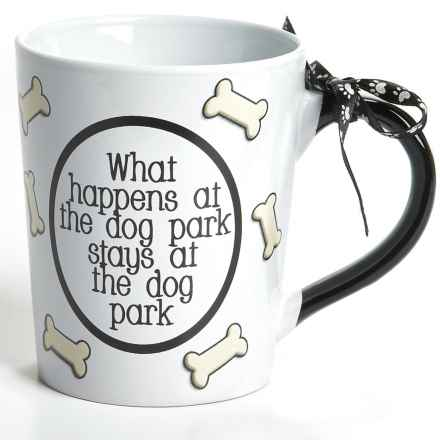 Tumbleweed Dog Bones Ceramic Mug - 20 fl.oz. in What Happens - Closeouts