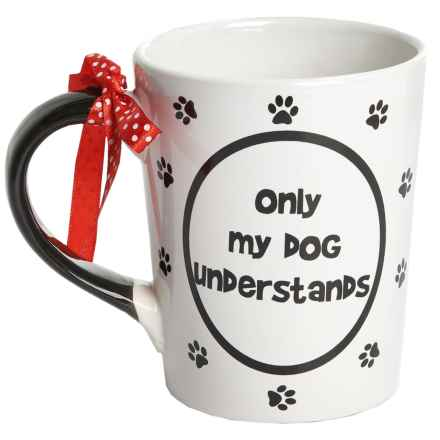 Tumbleweed Truthful Dog Mug - 20 fl.oz., Ceramic in Only My Dog - Closeouts