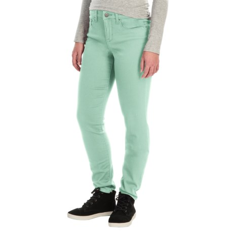 Tummy Control Skinny Jeans - Stretch Cotton (For Women)