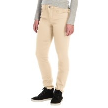 Tummy Control Skinny Jeans - Stretch Cotton (For Women) in Natural - 2nds