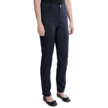 Tummy Control Skinny Jeans - Stretch Cotton (For Women) in Navy - 2nds