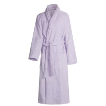 Turkish 14 oz. Cotton Terry Robe (For Women) in Lavender - Closeouts
