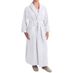 Turkish 14 oz. Cotton Terry Robe (For Women) in White