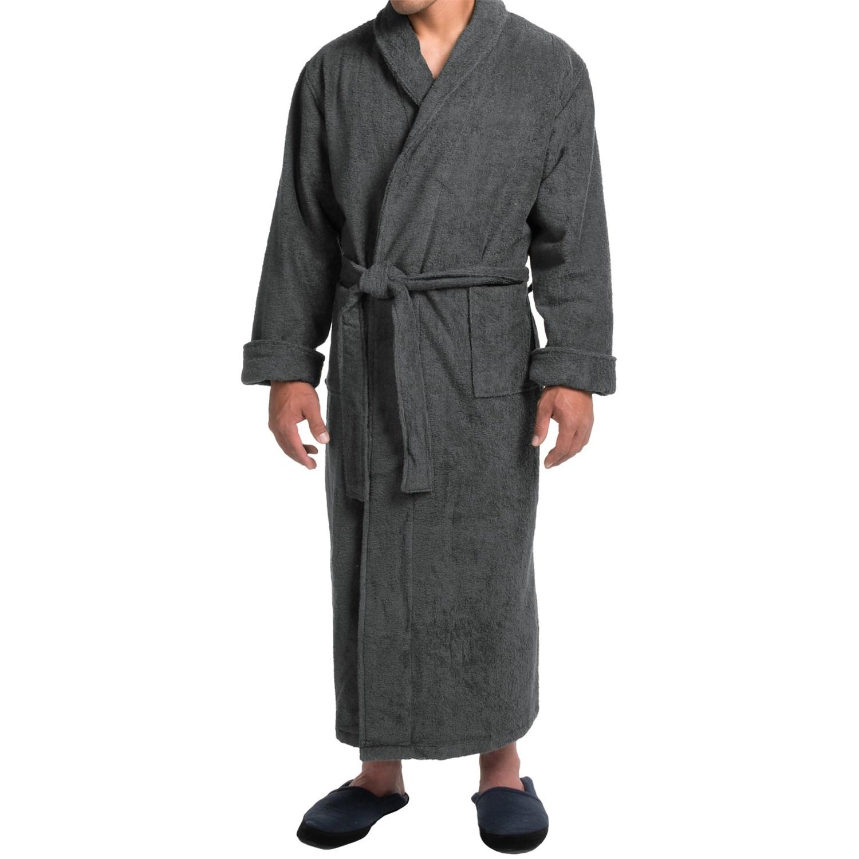 Robe: Turkish Cotton Terry Robe (For Men)