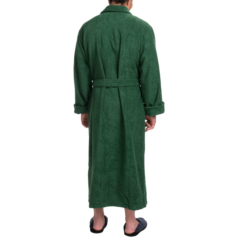 da05e36a9e Turkish Cotton Terry Robe (For Men) - Save 57%