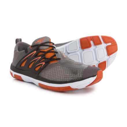 Turner Footwear T-Fleerun Training Shoes (For Men) in Grey/Orange/Black - Closeouts