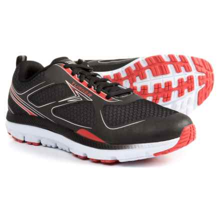 Turner Footwear T-Lazer Running Shoes (For Men) in Black/Red/White - Closeouts