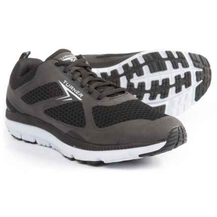 Turner Footwear T-Lazer Running Shoes (For Men) in Black/White - Closeouts