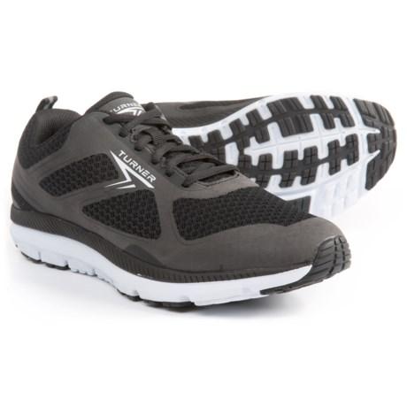 Turner Footwear T-Lazer Running Shoes (For Men) in Black/White