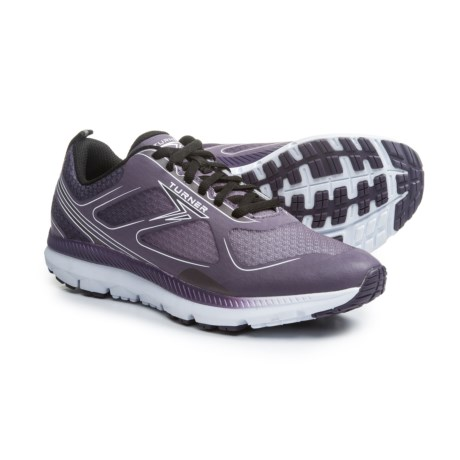Turner Footwear T-Lazer Running Shoes (For Women) in Black/Grape
